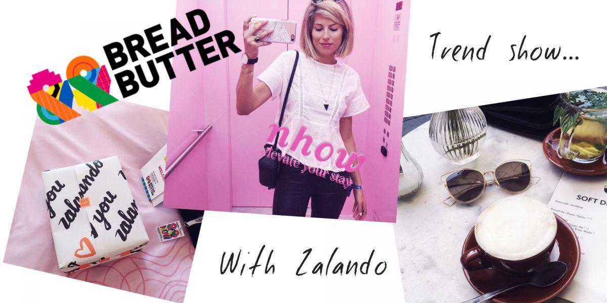 zalando bread and butter trend show berlin fashion shows