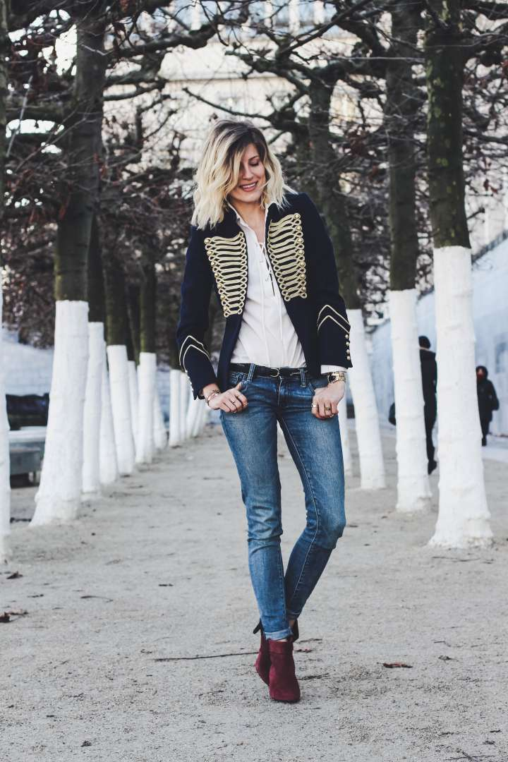 military jacket veste militaire trend alert tendance zara ikks made by f fashion blogger