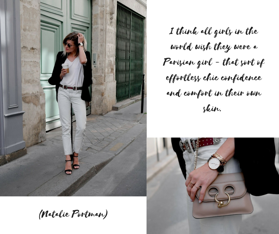 effortless chic paris sarenza cosmoparis levi's made by f french blogger fashion mode tendance