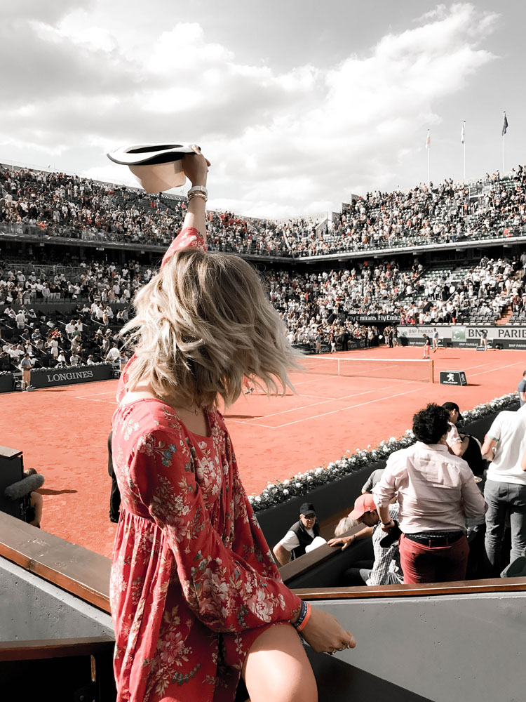 AT ROLAND GARROS WITH PIAGET | AD
