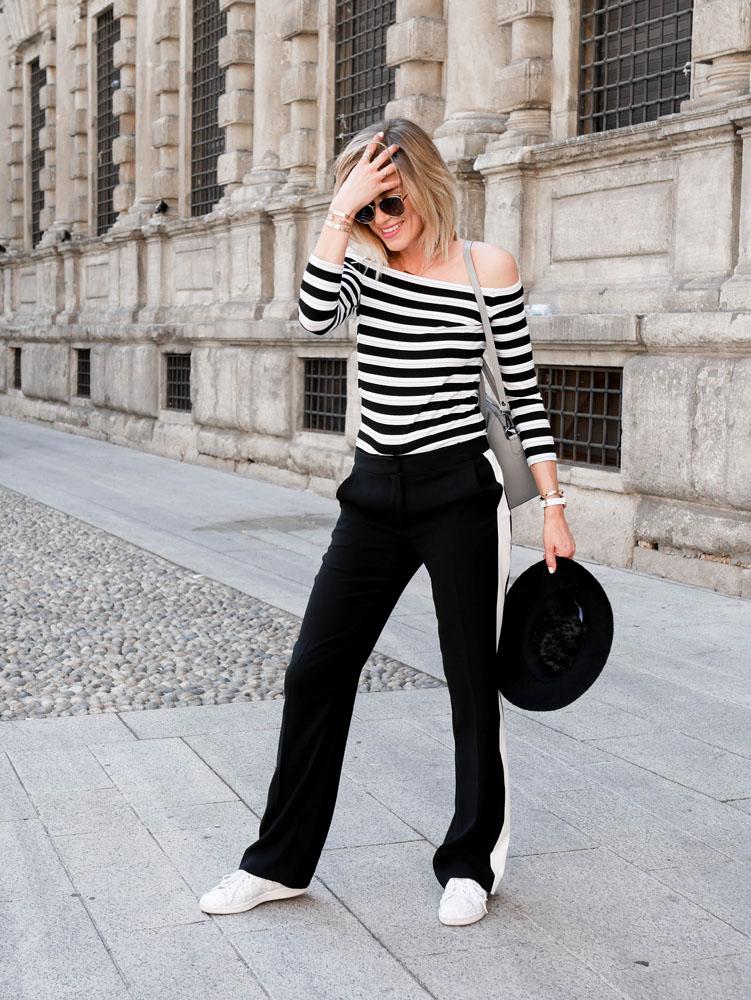 combining stripes how to wear stripes essentiel antwerp patrizia pepe