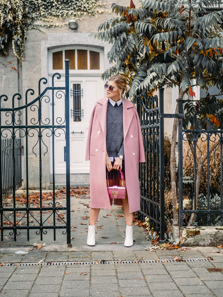 How to style: the pink coat