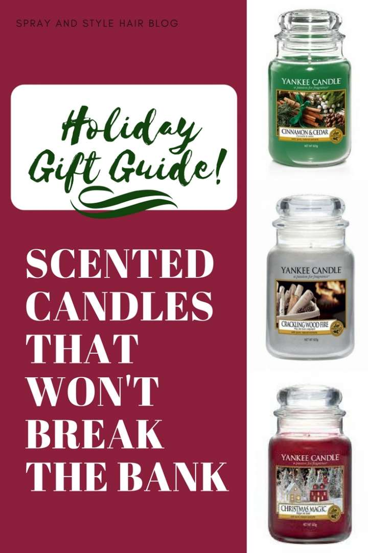 Holiday Gift Guide: Festive holiday candles that won't break the bank!