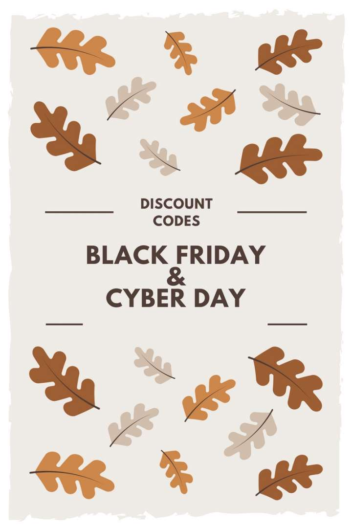 Black Friday & Cyber Monday Promo Codes!