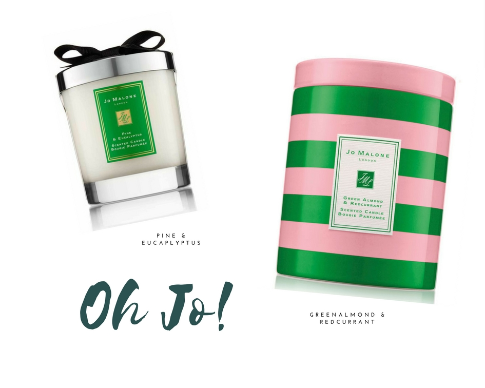 made by f holiday gift guide scented candles luxury jo malone green almond redcurrant pine eucalyptus bougies parfumés cadeaux noel