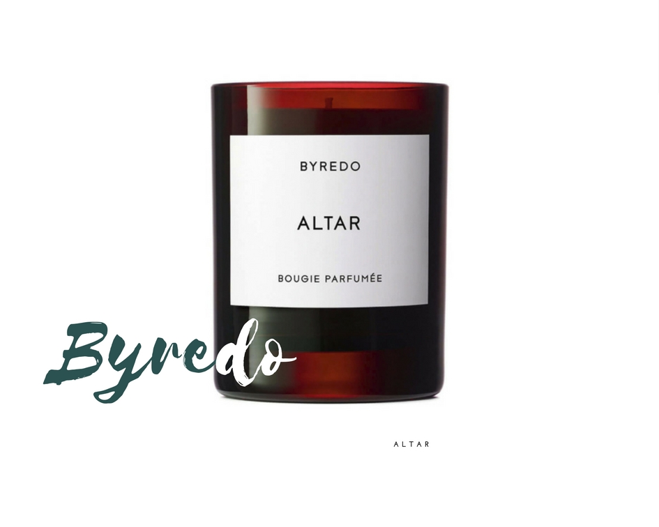 made by f holiday gift guide scented candles luxury byredo altar bougies parfumés cadeaux noel