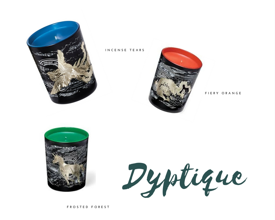 made by f holiday gift guide scented candles luxury dyptique bougies parfumés cadeaux noel