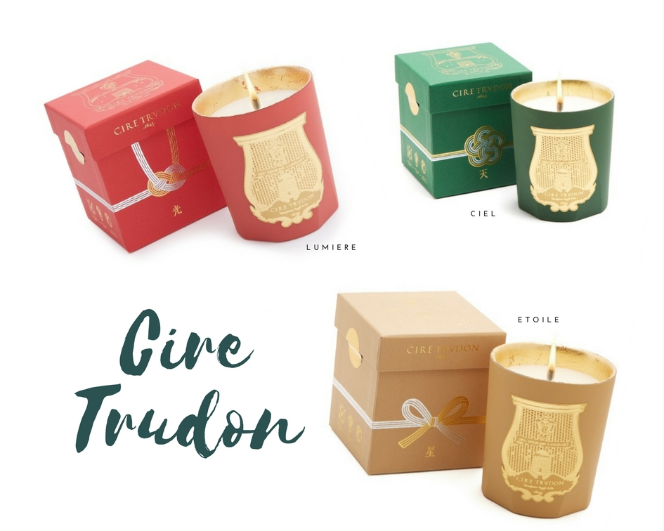made by f holiday gift guide scented candles luxury cire trudon bougies parfumés cadeaux noel