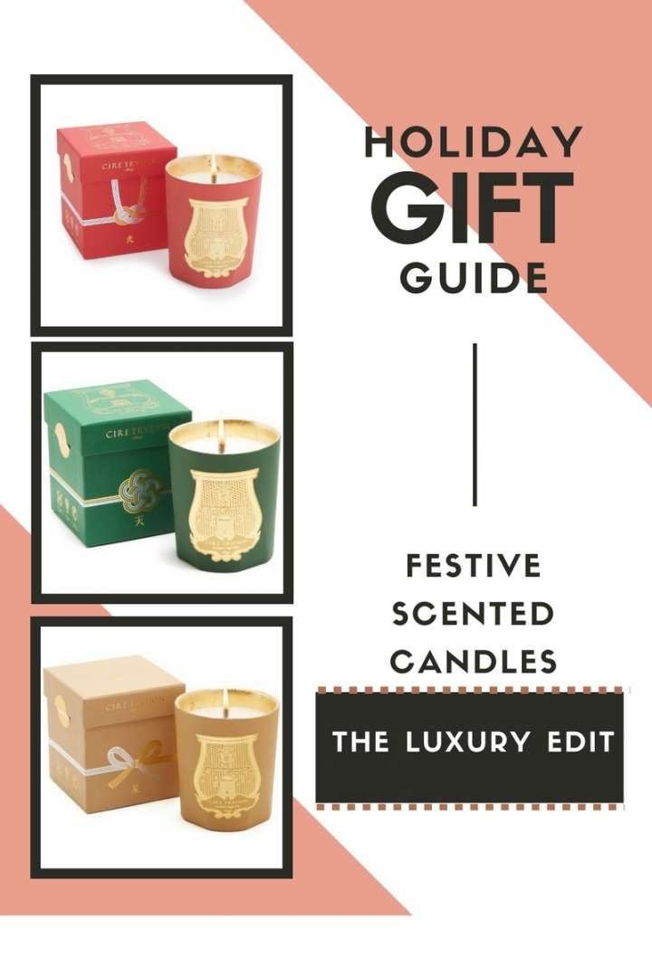 Holiday Gift Guide: Festive Holiday Candles – The Luxury Edit