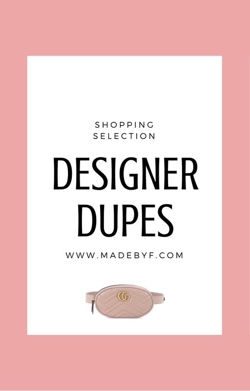 Designer Dupes #1: Ma sélection
