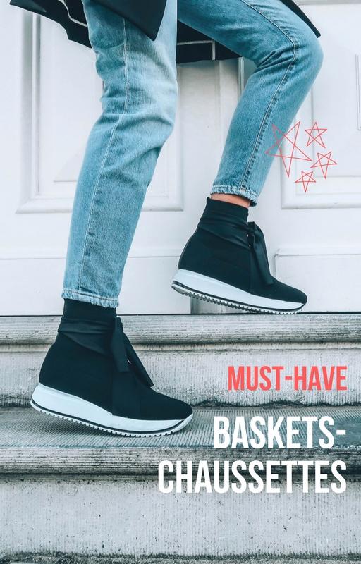 Must-have: les baskets-chaussettes