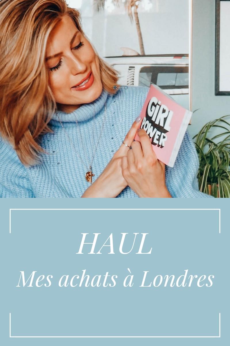HAUL – Mes achats à Londres (vidéo)