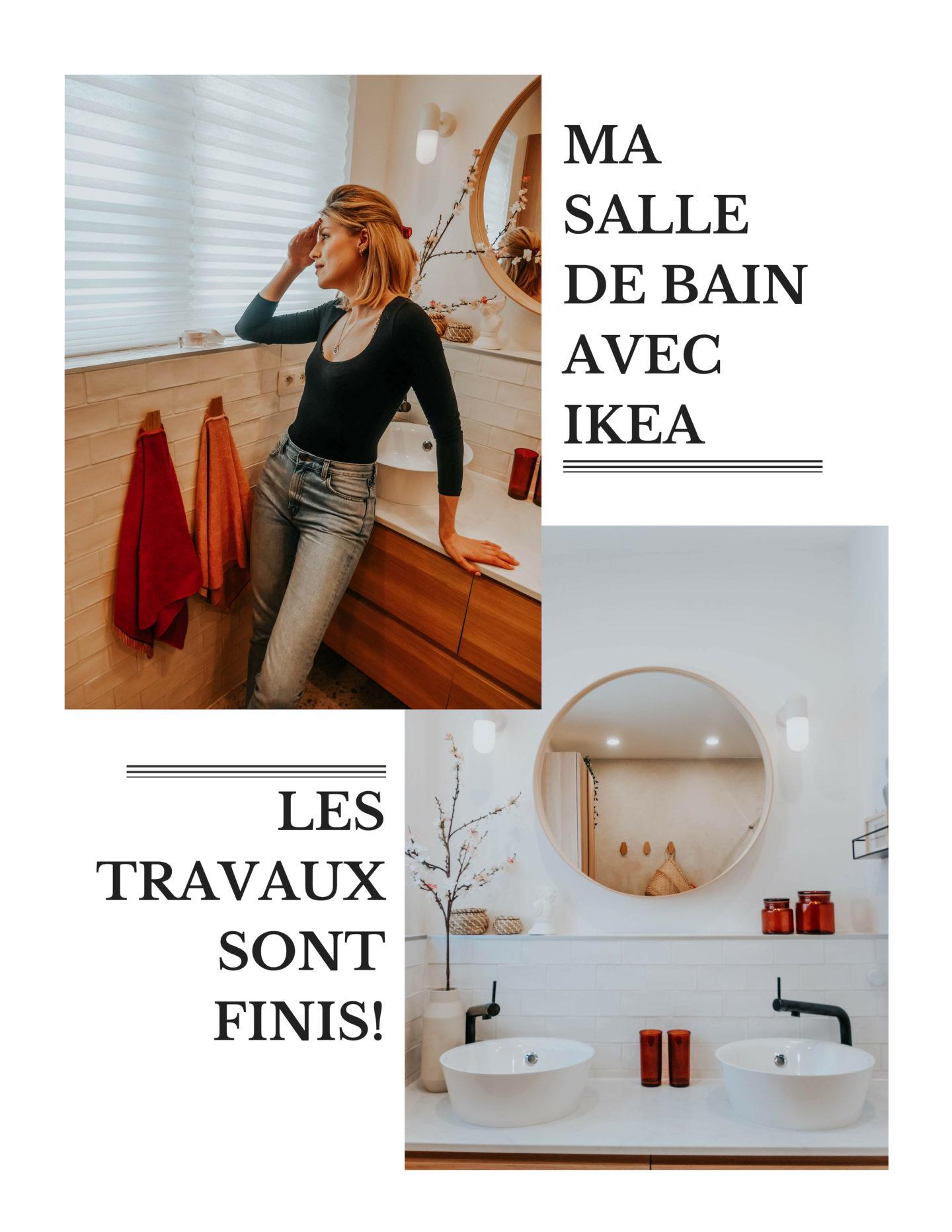 Je rénove ma salle de bain avec IKEA: Le résultat final!
