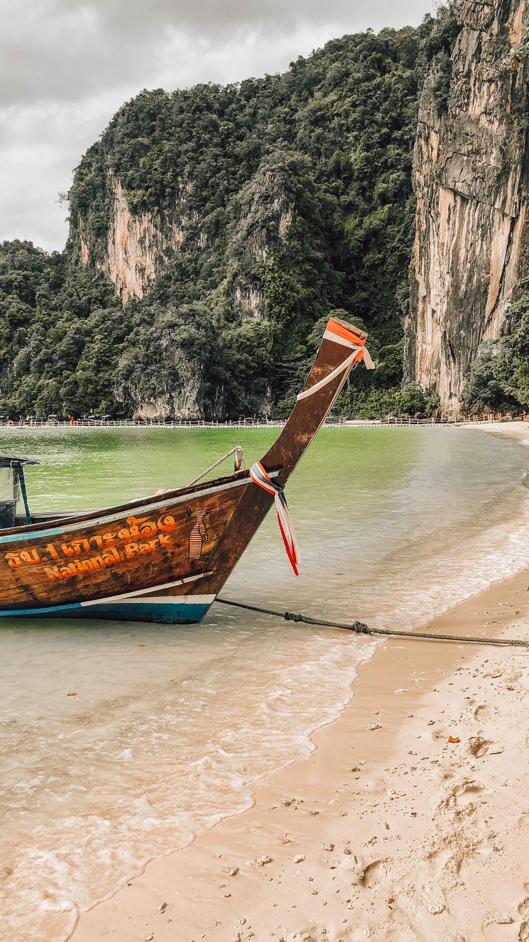 krabi thailand longtail boat holidays tourism