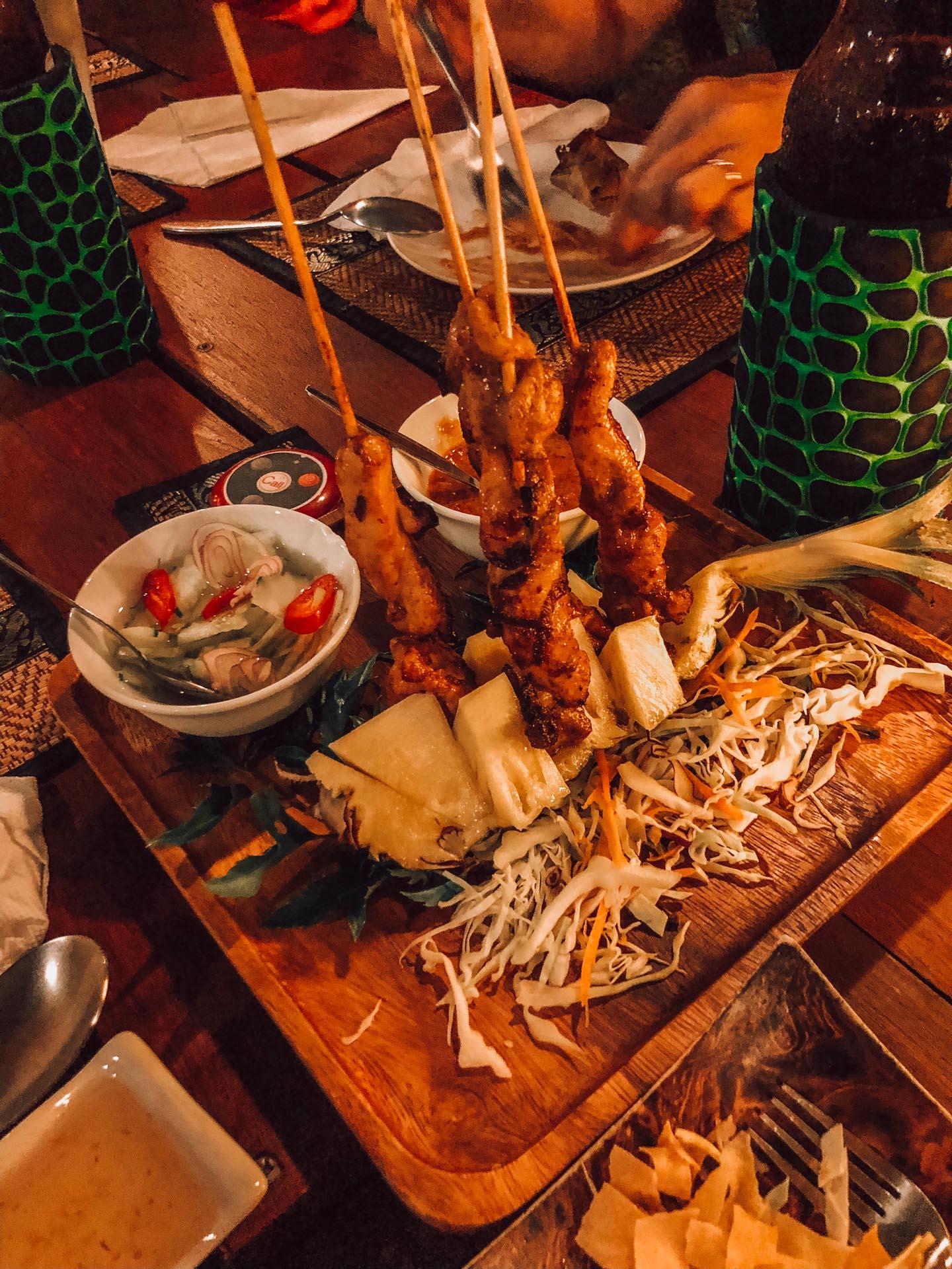 thai food rice paddy restaurant southern cuisine thailandaise du sud krabi