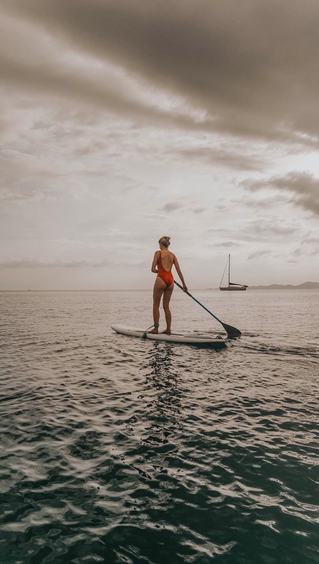 SUP stand up paddling paddle thailande thailand krabi hotel dusit madebyf a fashion taste blogger