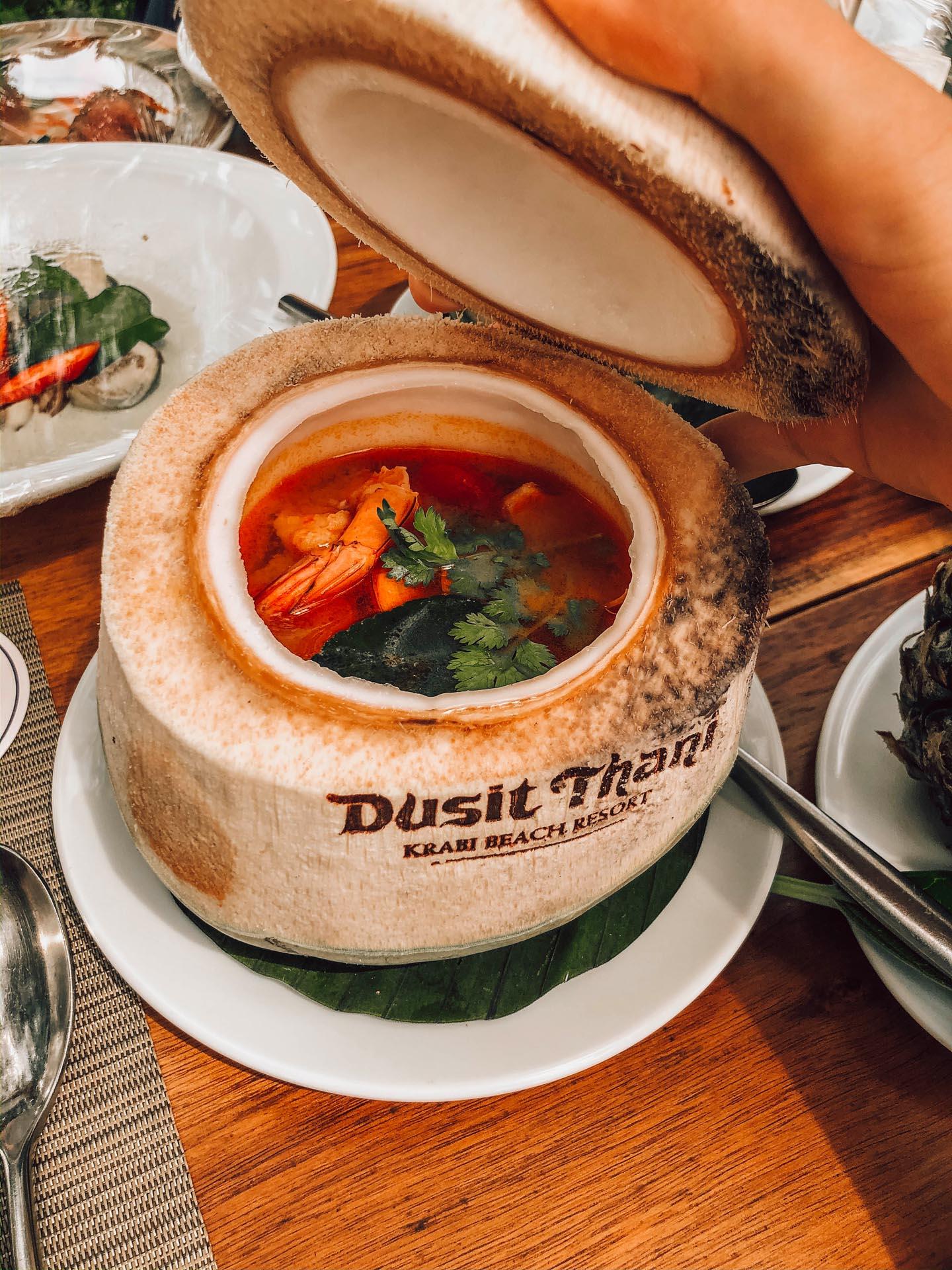 thai food southern cuisine thailandaise du sud krabi
